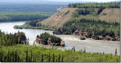 Five Finger Rapids-Klondike Hwy. between White Horse and Pelly Crossing YT