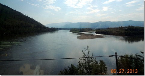 Stewart River-Pelly Crossing to Dawson City YT