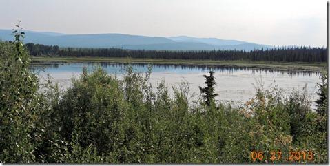 Gravel Lake-Pelly Crossing to Dawson City YT