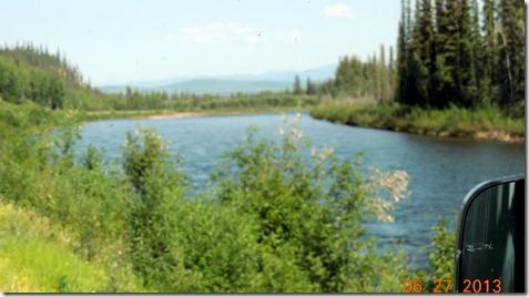 Pelly Crossing to Dawson City YT