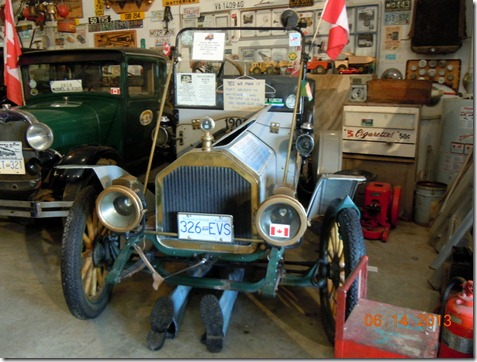 Model T, which went back and forth to Whitehorse in 1992