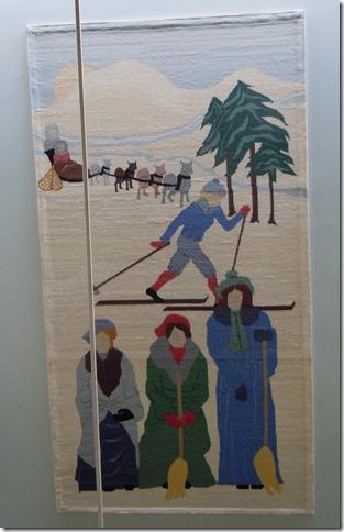 Mural- Government Bldg. White Horse YT- Winter