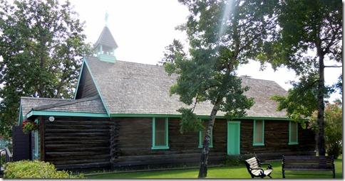 Old Log Church Museum- White Horse YT
