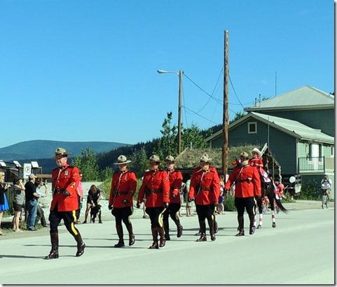 Dawson City Canada Day Parade