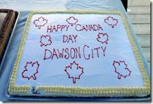 Dawson City YT Canada Day Picnic