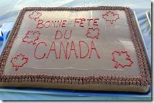 Dawson City YT Canada Day Parade -picnic