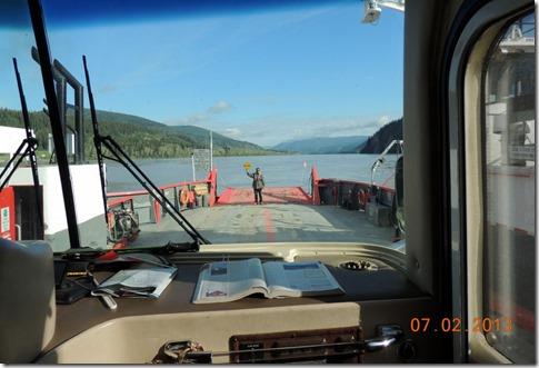 Loading onto ferry