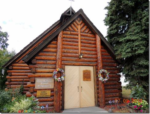 Episcopal Log Church Fairbanks AK