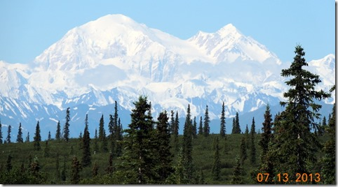 Mt. McKinley from Hwy 3