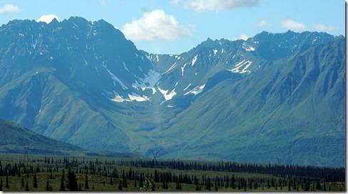 An un-named glacier