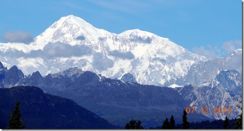 Mt. McKinley from the Denali State Park overlook