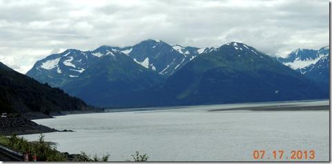 Glaciers on Seward Hwy.