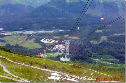 View from top of Alyeska