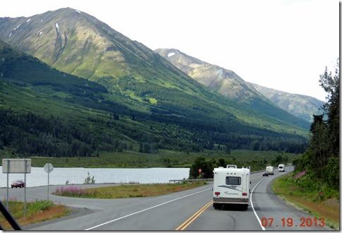 Between Portage and Seward AK