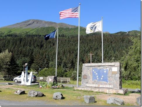 Seward AK - Benny Benson Memorial