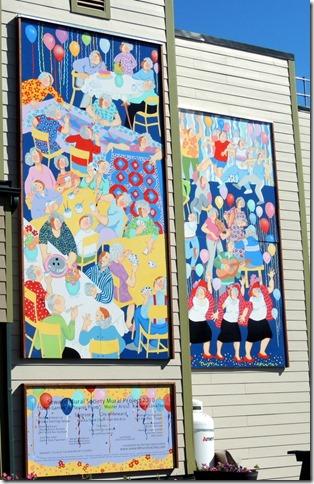 Seward AK  Senior Prom Mural