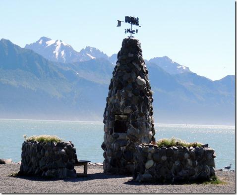 Seward AK Founders Monument