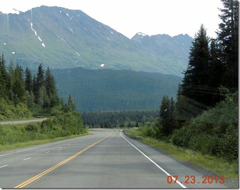 From Seward to Soldonta AK