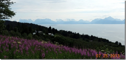 Cook Inlet, Home, with spit in the background