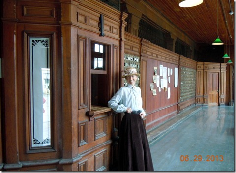 Dawson City-Old Post Office with guide