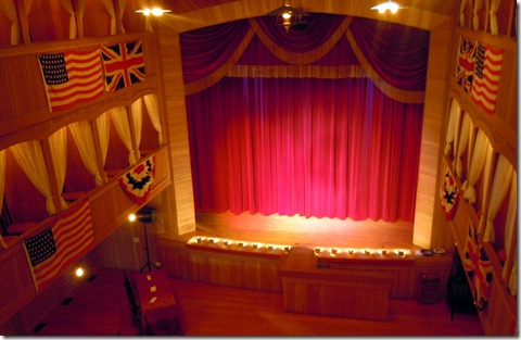 Dawson City-Stage at Grand Palace Theater
