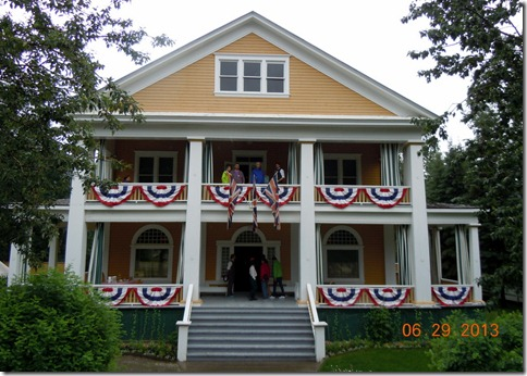 Dawson City-Commissioners Residence