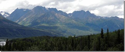 Glen Hwy. between Palmer and Glenallen AK
