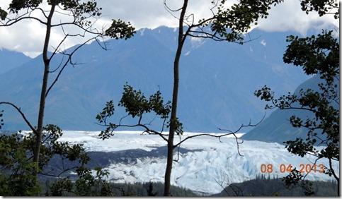 Glen Hwy. between Palmer and Glenallen AK- Matanuska Glacier