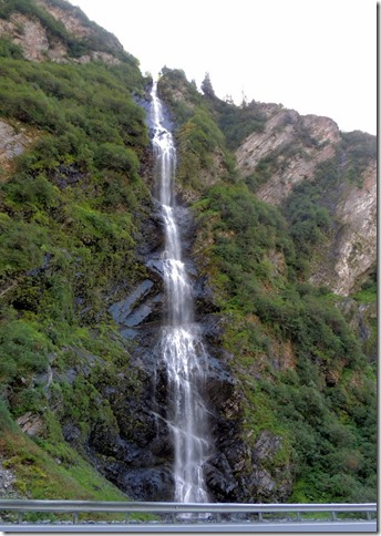 Copper Center to Valdez - Bridal Veil Falls
