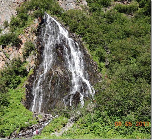 Copper Center to Valdez - Horse Hair Falls