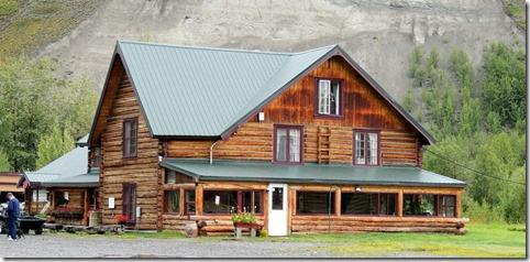 Gitkona Lodge between Chitina and tok