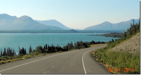 From Destruction Bay YT to Haines AK