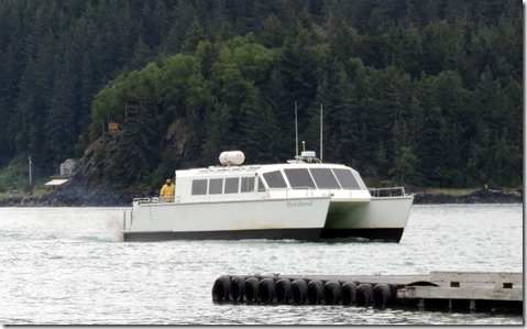 Fast Ferry to Juneau from Haines