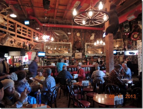 Inside Red Dog Saloon