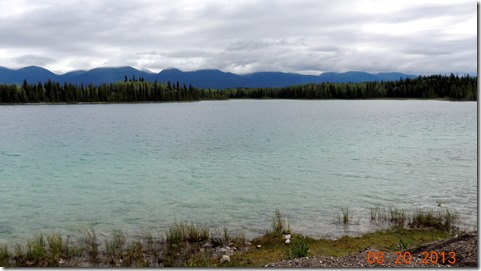 Boya Lake from out campsite