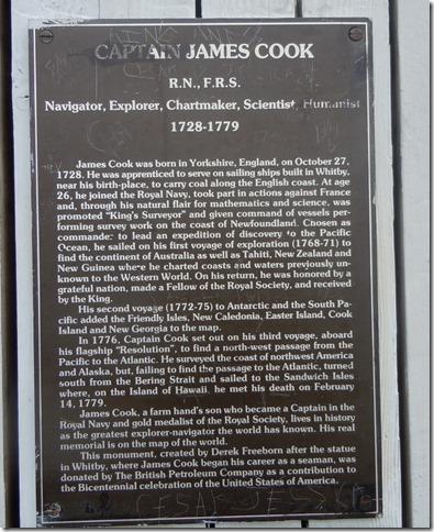 Capt. cook statue