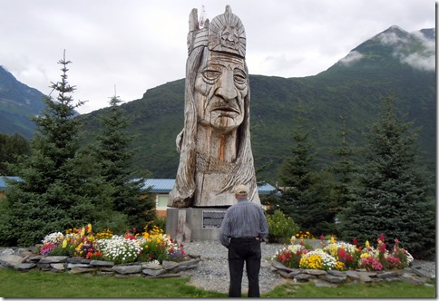 Peter Toth Indian Carving- Valdez aK