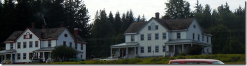 Two of Ft. Seward's buildings