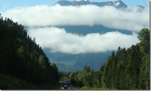Between Kitwanga and Prince Rupert BC