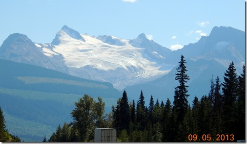 Albreda Glacier, between Valmont BC and Thompson River