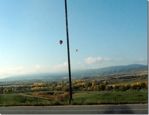 Balloons south of Denver