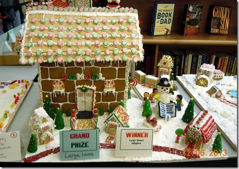 Winner Gingerbread contest.