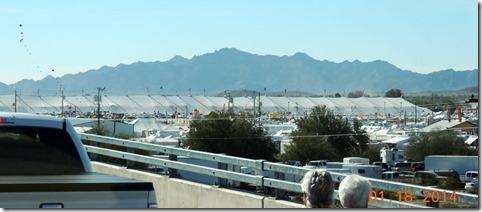 Quartzsite 2014 big tent