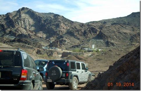 Road to Desert Bar