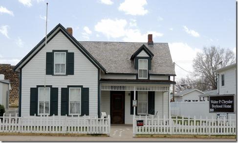 Walter P. Chrysler boyhood home, Ellis KS