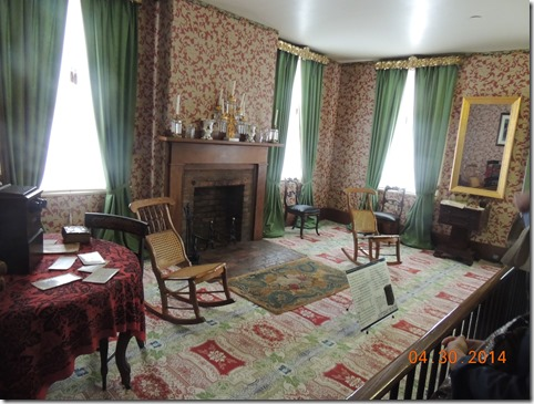 Lincoln family room.