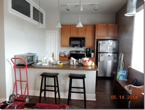 Kitchen in apartment in South Bend IN