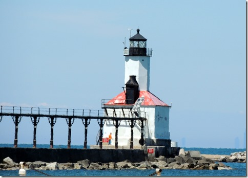 New Lighthouse, Michigan City IN