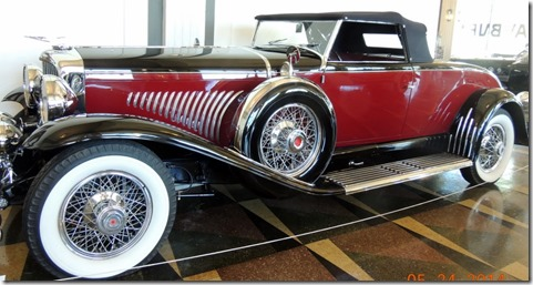 1928 Model J, elongated chassis Dusenberg