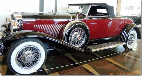 1928 Model J, elongated chassis Dusenberg